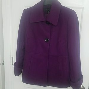 BEAUTIFLE purple coat